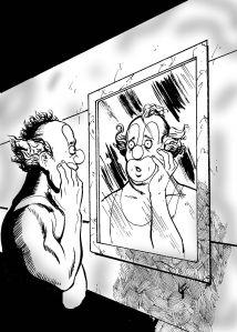 Arte caras de palhaço2